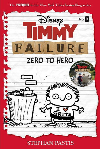 notebook sketch style animated character Timmy Failure