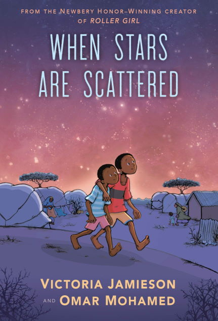 2 boys walking on a plain When Stars are scattered