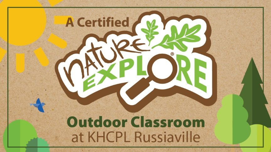 A certified nature explore outdoor classroom