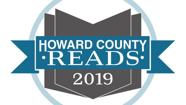 2019 Howard County Reads in text on a white background