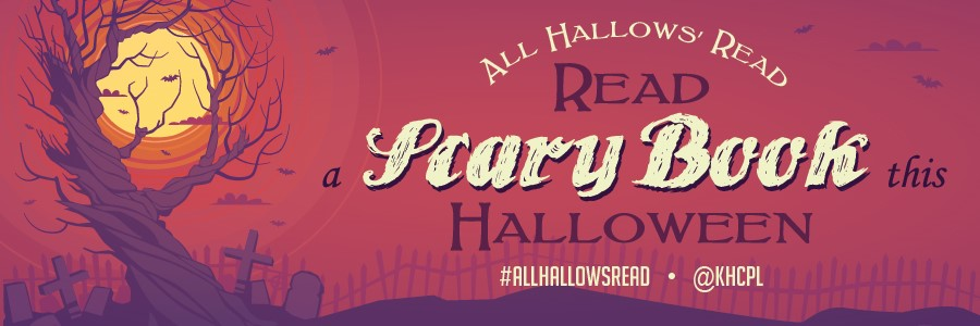 All Hallows' Read banner