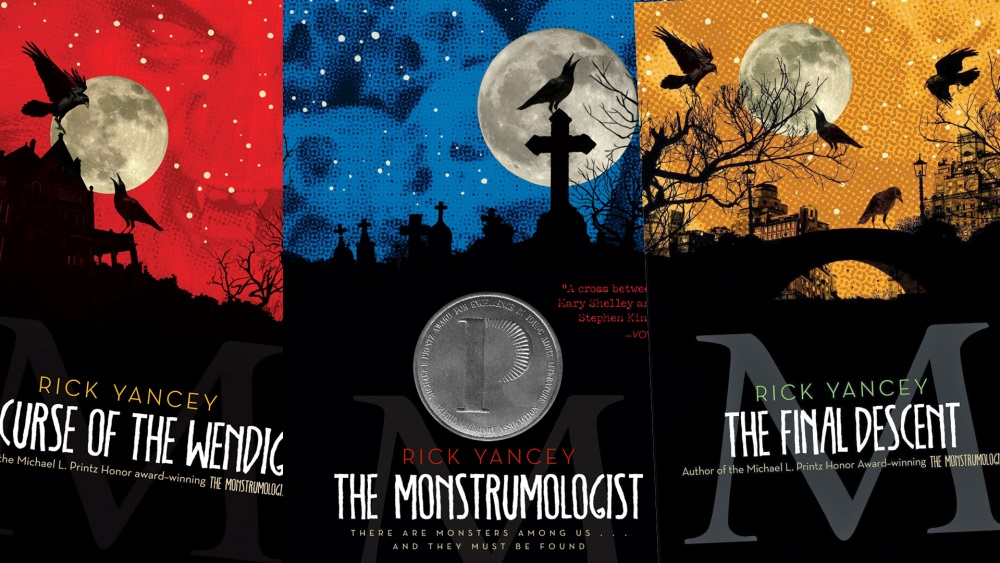 Monstrumologist Series Book Covers