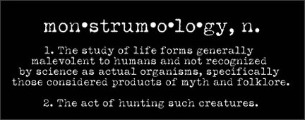 monstrumologist definition
