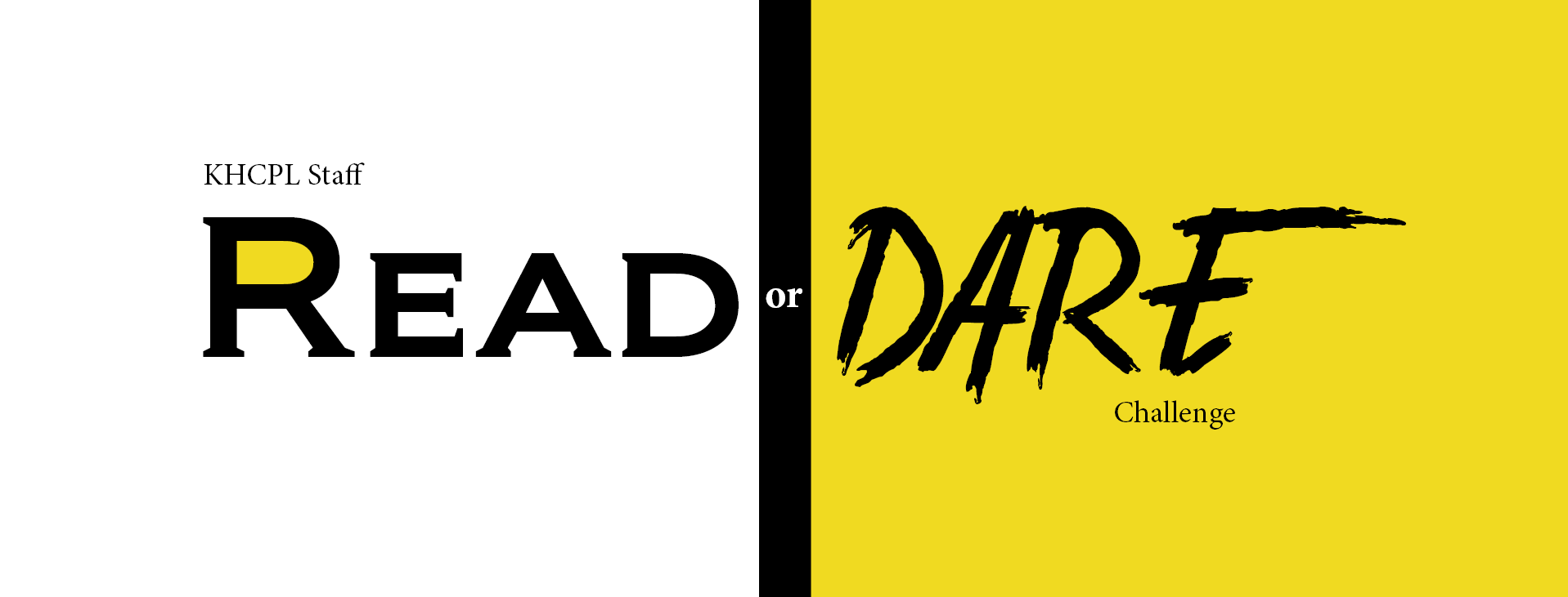 Read or Dare Challenge Logo