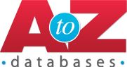 Logo with the phrase A to Z Databases on it